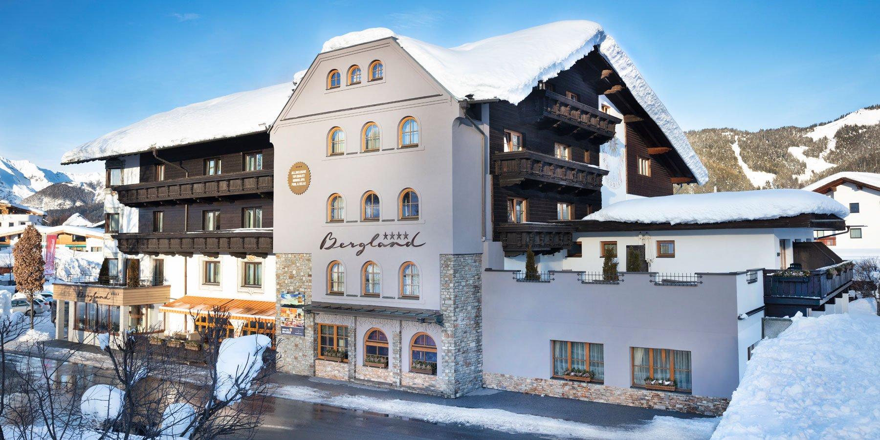 Hotel Bergland Seefeld im Winter