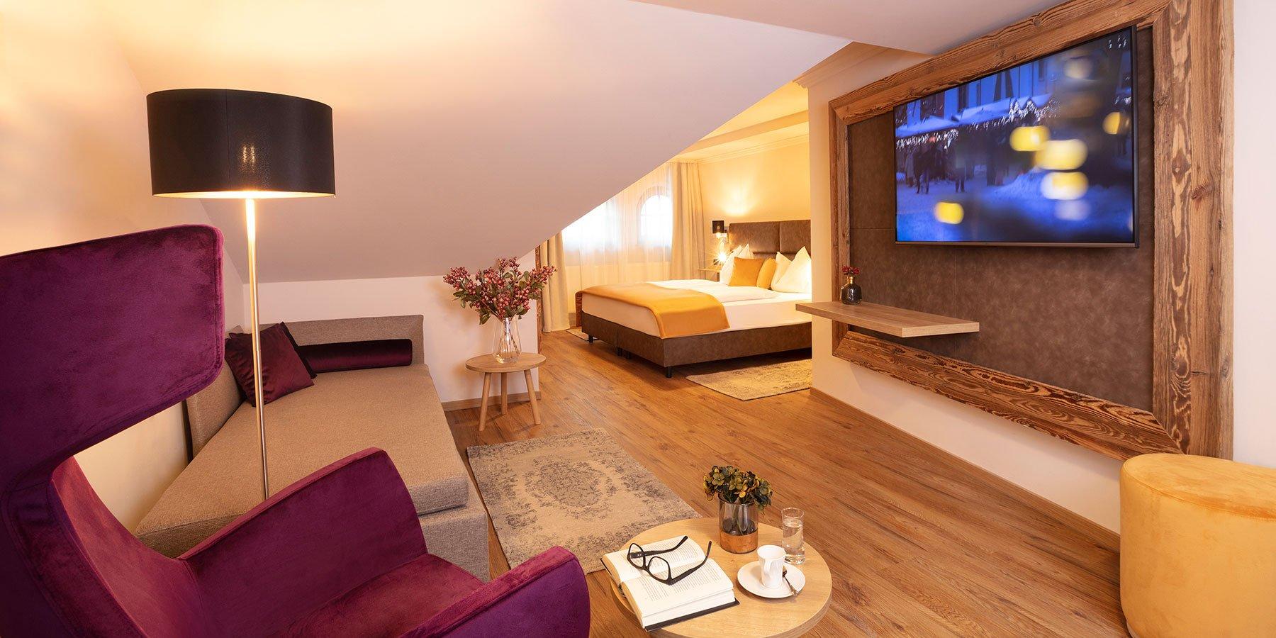 Zimmer & Suiten im Hotel Bergland Seefeld