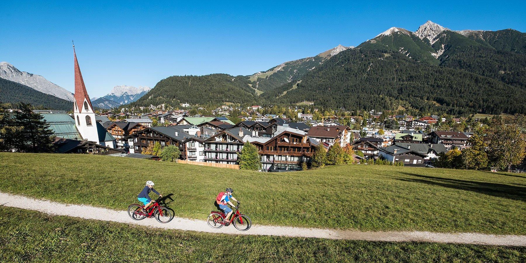 Biken in Seefeld