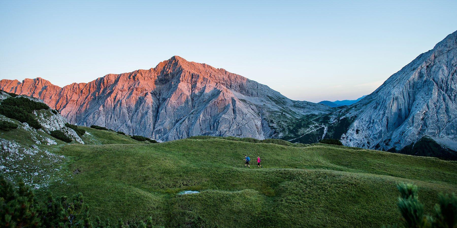 Wandern in Karwendelgebirge