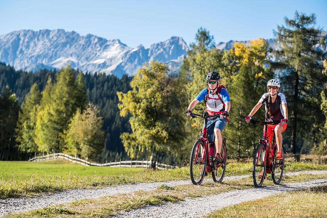 Mountainbiken in Seefeld
