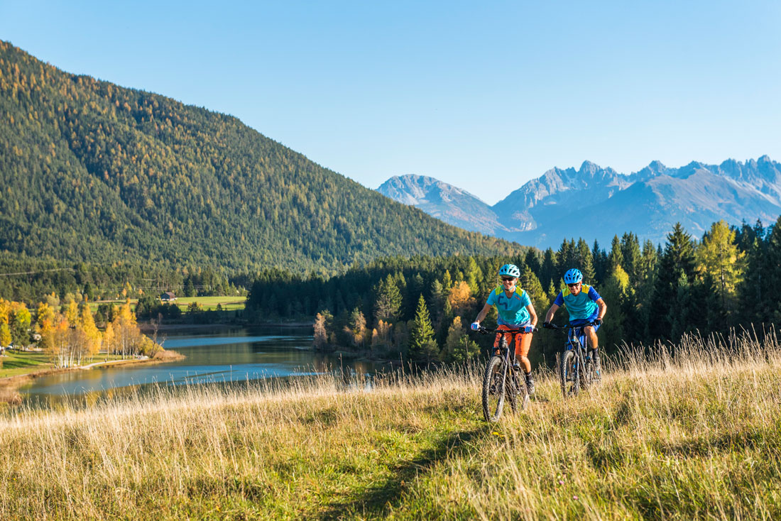 Mountainbiken in Seefeld