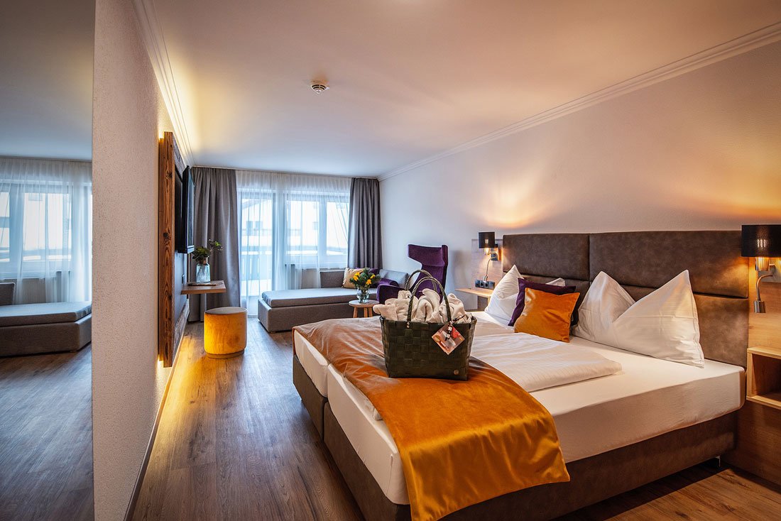 Zimmer im Hotel Bergland