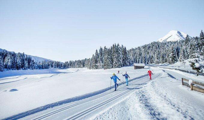Langlaufen in Seefeld